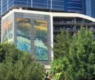 Mural on 110 Orlando, Florida